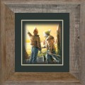 "Paper > Unsigned > Companions > Framed > Barnwood > 11.75""×11.75"": Kids"