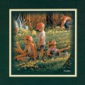 """Paper > Unsigned > Companions > Unframed > 8""""×8"""": Picking Dandelions"""
