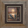 "Paper > Unsigned > Companions > Framed > Barnwood > 11.75""×11.75"": Full Moon"