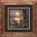 "Paper > Unsigned > Companions > Framed > Oak > 10""×10"": Full Moon"