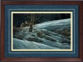"""Paper > Signed > Limited > Framed > Cherry > Lapis/Gold > 38""""×26"""""""