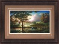 "Paper > Signed > Artist Proof > Framed > Rustic > Targa/Moccasin Leather > 42""×28"""