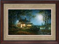 """Paper > Signed > Artist Proof > Framed > Cherry > Rye/Moccasin Leather > 42""""×28"""""""