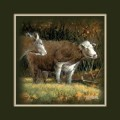 """Paper > Unsigned > Companions > Unframed > 8""""×8"""": Cattle Buddies"""