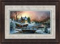 "Paper > Signed > Artist Proof > Framed > Rustic > Grey/Black Spruce > 42""×28"""