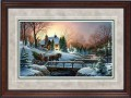"Paper > Signed > Artist Proof > Framed > Cherry > Grey/Black Spruce > 42""×28"""