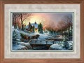 "Paper > Signed > Artist Proof > Framed > Oak > Grey/Black Spruce > 42""×28"""