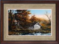"""Paper > Signed > Limited > Framed > Cherry > Rye/Moccasin Leather > 34""""×25"""""""