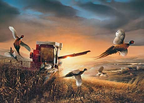 add a signed or unsigned print or canvas reproduction from terry redlin to your personal collection